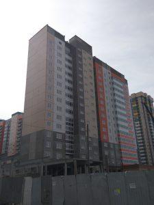Покровский дом 6. Апрель 2018
