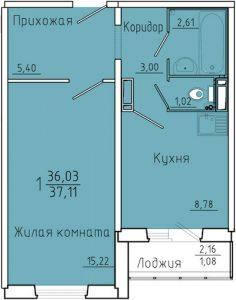 ЖК Иннокентьевский планировки