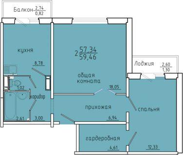 Иннокентьевский дом 3 планировки