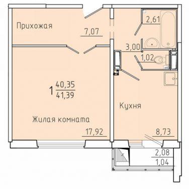 Покровский Красноярск планировки