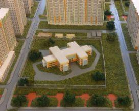 В микрорайоне Нанжуль-Солнечный началось строительство детского сада