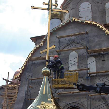 Храм в честь иконы Божьей Матери «Всецарица»